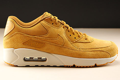 Nike Air Max 90 Ultra 2.0 LTR Wheat Wheat Light Bone Rechts
