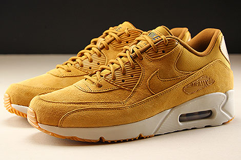 Nike Air Max 90 Ultra 2.0 LTR Wheat Wheat Light Bone Seitenansicht