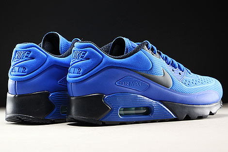 Nike Air Max 90 Ultra SE Hyper Cobalt Dark Obsidian Back view