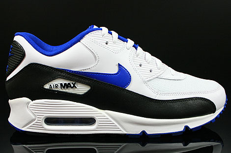 Nike Air Max 90 White Game Royal Black