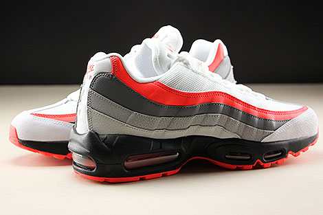 Nike Air Max 95 Essential White Bright Crimson Black Pure Platinum Innenseite