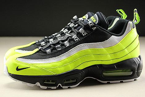 Nike Air Max 95 Premium Volt Black Volt Glow Barely Volt Seitenansicht