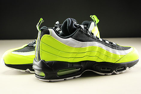 Nike Air Max 95 Premium Volt Black Volt Glow Barely Volt Inside