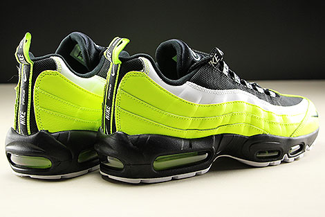 Nike Air Max 95 Premium Volt Black Volt Glow Barely Volt Back view