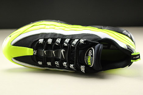 Nike Air Max 95 Premium Volt Black Volt Glow Barely Volt Over view