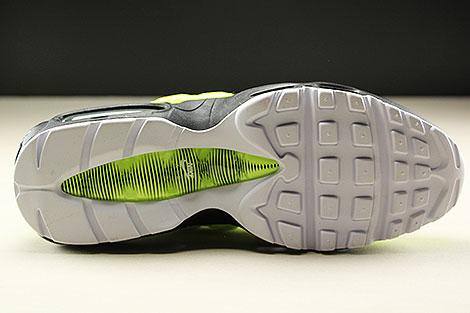 Nike Air Max 95 Premium Volt Black Volt Glow Barely Volt Laufsohle