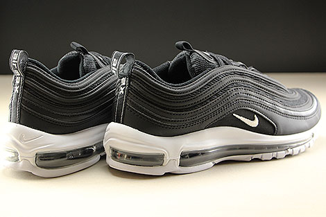 Nike Air Max 97 Black White Back view