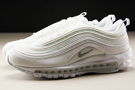 Nike Air Max 97 White Wolf Grey Black Seitenansicht