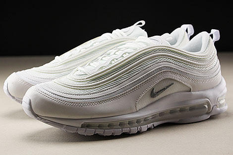 Nike Air Max 97 White Wolf Grey Black Seitendetail