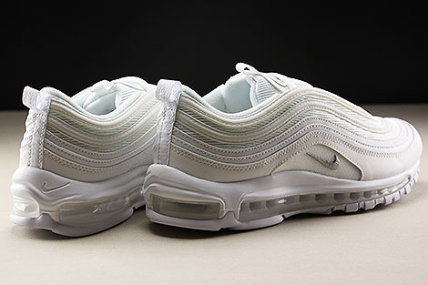 Nike Air Max 97 White Wolf Grey Black Rueckansicht