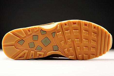 Nike Air Max BW Braun Dunkelbraun Creme Laufsohle