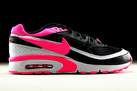Nike Air Max BW GS Black Pink Blast White Right
