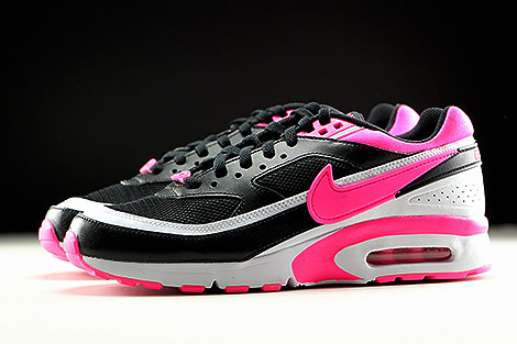 Nike Air Max BW GS Black Pink Blast White Profile
