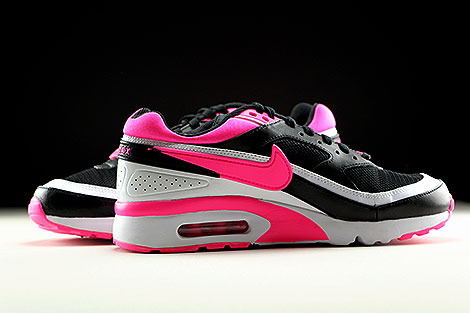 Nike Air Max BW GS Black Pink Blast White Inside