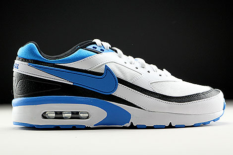 on sale 6f4b0 b0b36 ... Nike Air Max BW GS White Photo Blue Black Right ...