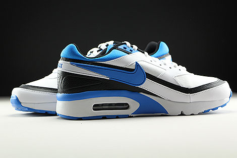 Nike Air Max BW GS White Photo Blue Black Inside