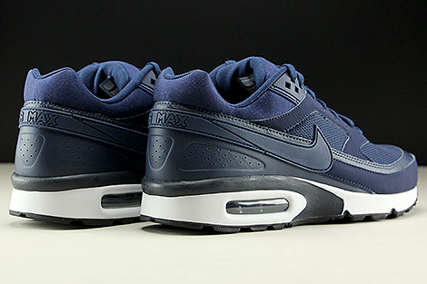 Nike Air Max BW Midnight Navy Midnight Navy Back view