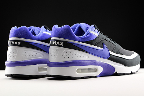 Nike Air Max BW OG Black Persian Violet Sail Back view