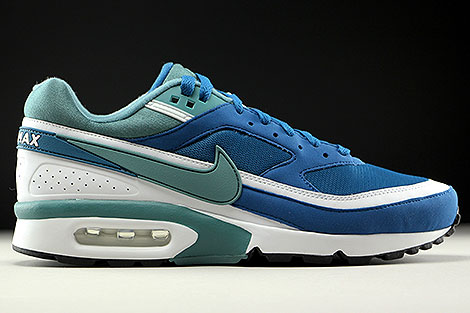 Nike Air Max BW OG Marina Grey Jade White Right