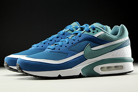 Nike Air Max BW OG Marina Grey Jade White Profile
