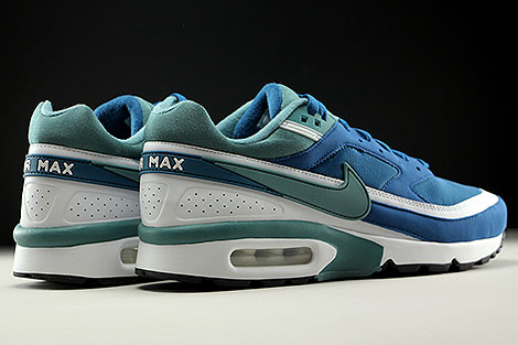 Nike Air Max BW OG Marina Grey Jade White Back view