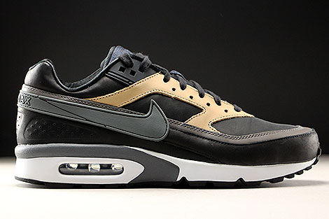 Nike Air Max BW Premium Black Dark Grey Vachetta Tan