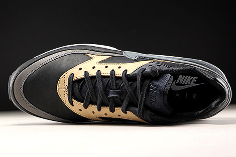 Nike Air Max BW Premium Black Dark Grey Vachetta Tan Over view