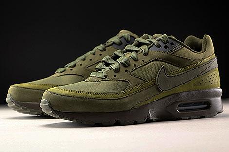 Nike Air Max BW Premium Dark Loden Olive Flak Sidedetails