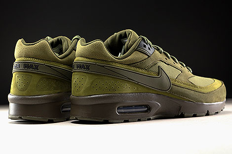 Nike Air Max BW Premium Dark Loden Olive Flak Back view