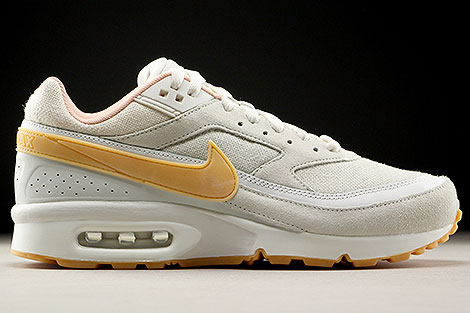 Nike Air Max BW Premium Phantom Gum Yellow Light Bone