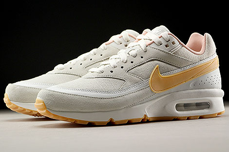 Nike Air Max BW Premium Phantom Gum Yellow Light Bone Sidedetails