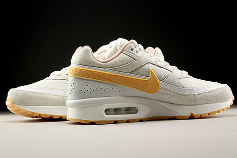 Nike Air Max BW Premium Phantom Gum Yellow Light Bone Inside