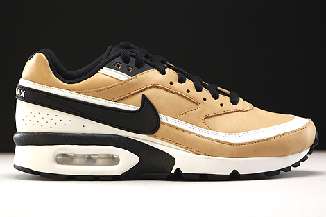 Nike Air Max BW Premium Vachetta Tan Black White Right