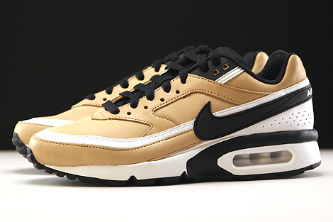 Nike Air Max BW Premium Vachetta Tan Black White Profile