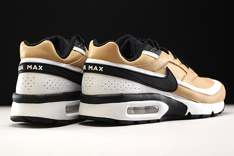 Nike Air Max BW Premium Vachetta Tan Black White Back view