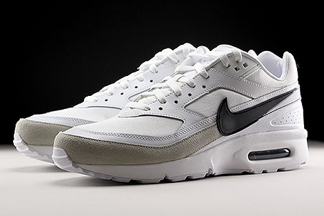 Nike Air Max BW Premium White Black Light Iron Ore Sidedetails