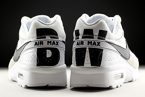 Nike Air Max BW Premium White Black Light Iron Ore Over view