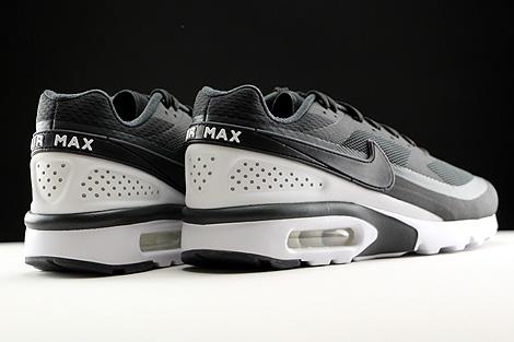 Nike Air Max BW Ultra Schwarz Anthrazit Weiss Rueckansicht