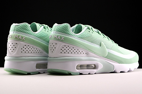 Nike Air Max BW Ultra Enamel Green Fiberglass White Back view