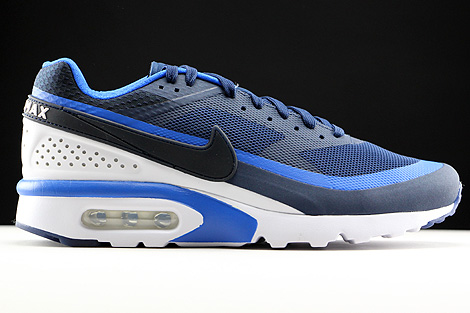 16f838c511e7 Nike Air Max BW Ultra Midnight Navy Hyper Cobalt White 819475-404 ...