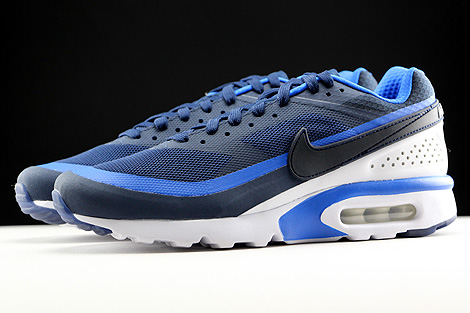 Nike Air Max BW Ultra Midnight Navy Hyper Cobalt White Profile