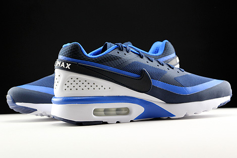 Nike Air Max BW Ultra Midnight Navy Hyper Cobalt White Inside