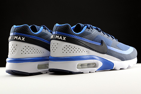 Nike Air Max BW Ultra Midnight Navy Hyper Cobalt White Back view