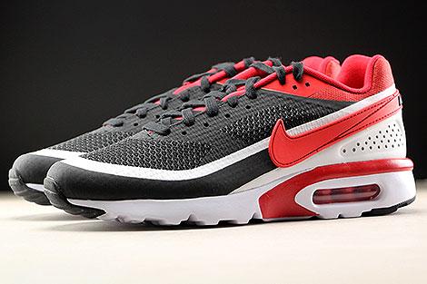 Nike Air Max BW Ultra SE Schwarz Rot Weiss Seitenansicht