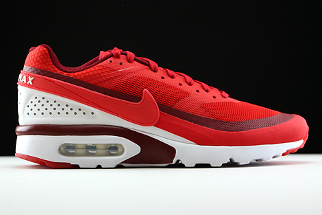 Nike Air Max BW Ultra University Red Bright Crimson White Right