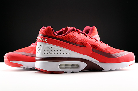 Nike Air Max BW Ultra University Red Bright Crimson White Inside