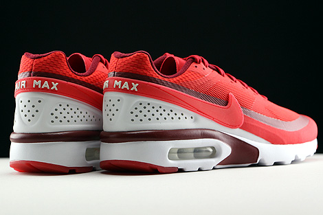 Nike Air Max BW Ultra University Red Bright Crimson White Back view