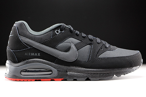Nike Air Max Command Schwarz Anthrazit Rot