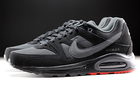 Nike Air Max Command Black Anthracite University Red Profile