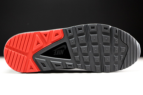 Nike Air Max Command Black Anthracite University Red Outsole